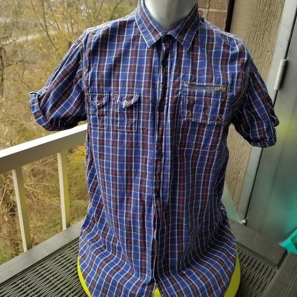 Ben Sherman Other - Ben Sherman Plaid Buttondown Short Sleeve
